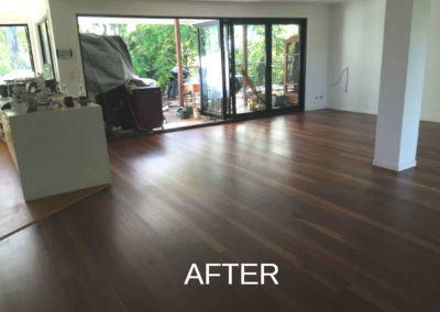 Timber Floors after