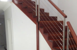 Timber Stairs polished